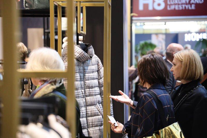 people viewing jacket